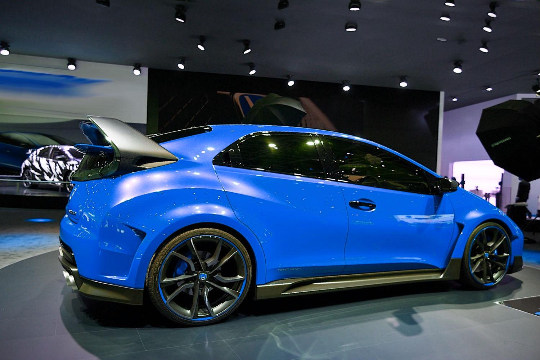 Honda Civic Type R Concept 2014:picture # 1 , reviews ...