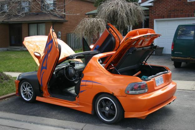 Honda Civic EX 2 Dr Coupe