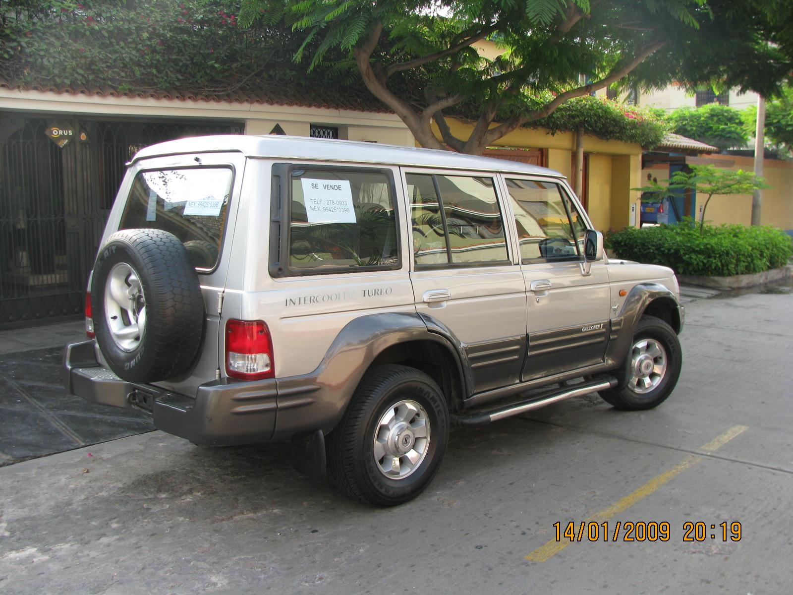 Hyundai Galloper Exceed Turbo