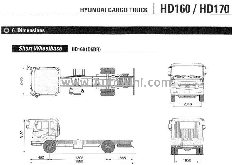 Hyundai HD160:picture # 5 , reviews, news, specs, buy car