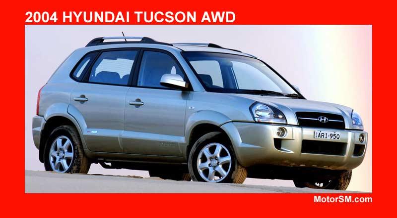 Hyundai Tucson V6 4WD Hyundai