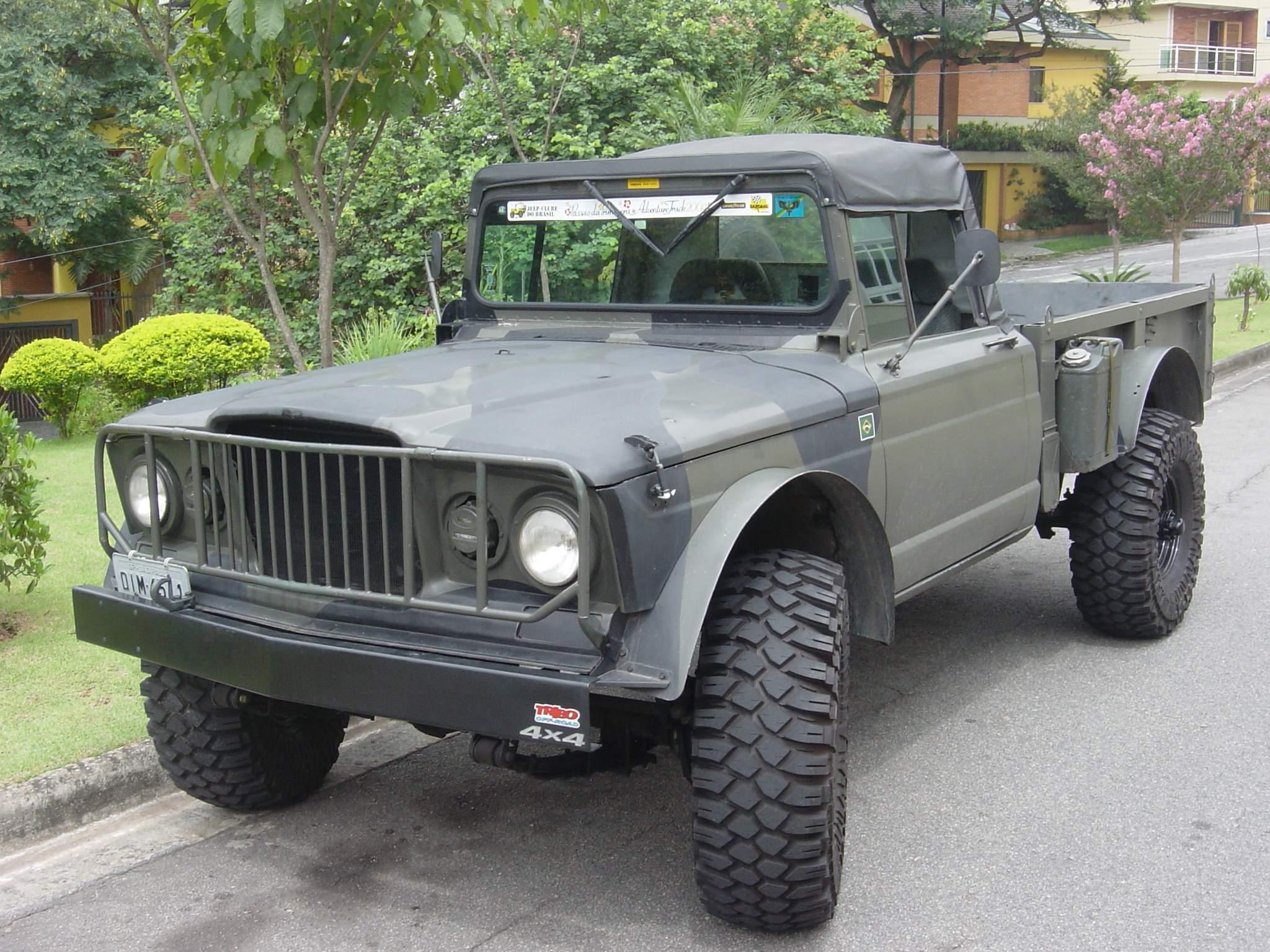 Custom Jeep Kaiser M715