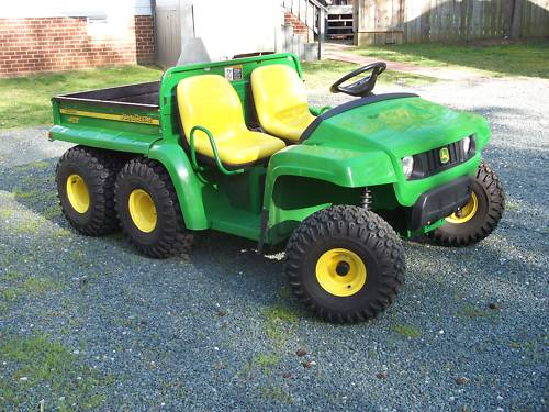 john deere gator 6x4 picture 4 reviews news specs. Black Bedroom Furniture Sets. Home Design Ideas
