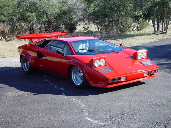 lamborghini countach replica photos news reviews. Black Bedroom Furniture Sets. Home Design Ideas