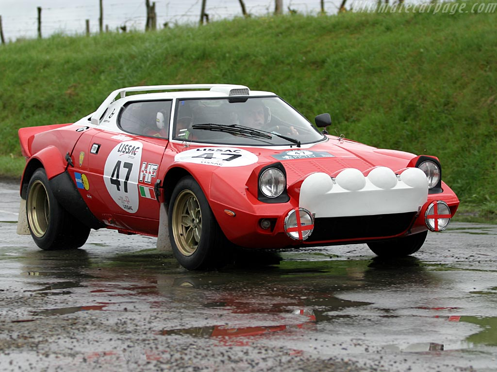 Lancia Stratos groupe IV
