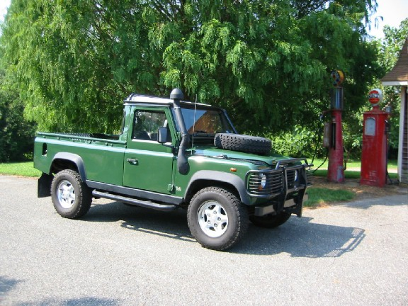 Land Rover Defender 110 Pick-Up:picture # 3 , reviews, news