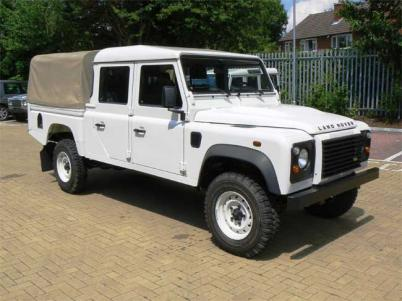 Land Rover Defender 130 pick-up:picture # 3 , reviews, news, specs