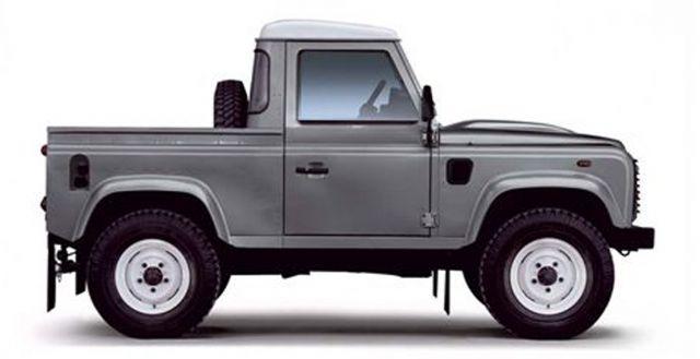 land rover defender 90 pick up photos reviews news specs buy car. Black Bedroom Furniture Sets. Home Design Ideas