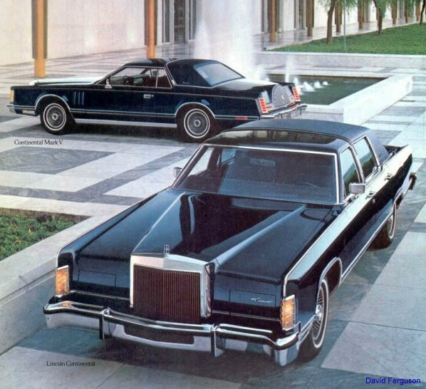 Lincoln Continental mk V coupe