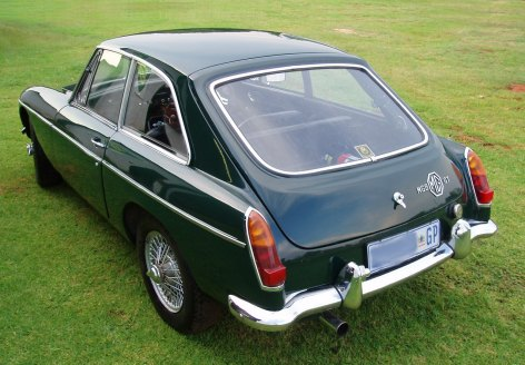 MG B GT Coupe