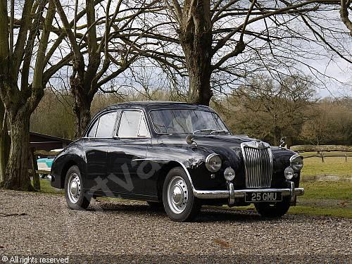 MG Magnette saloon