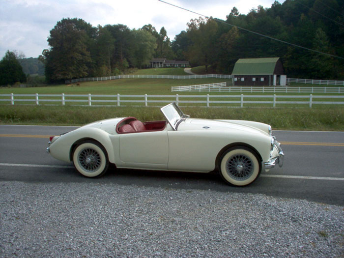 Mg Mga Roadster Picture 3 Reviews News Specs Buy Car