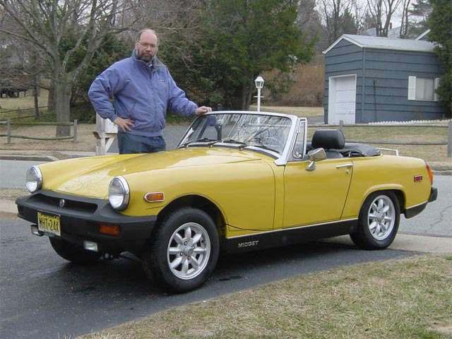 Automobile mg midget