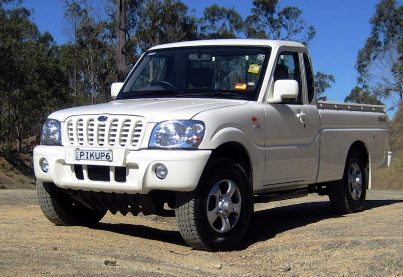 Mahindra Pick-up - Photos, News, Reviews, Specs, Car listings