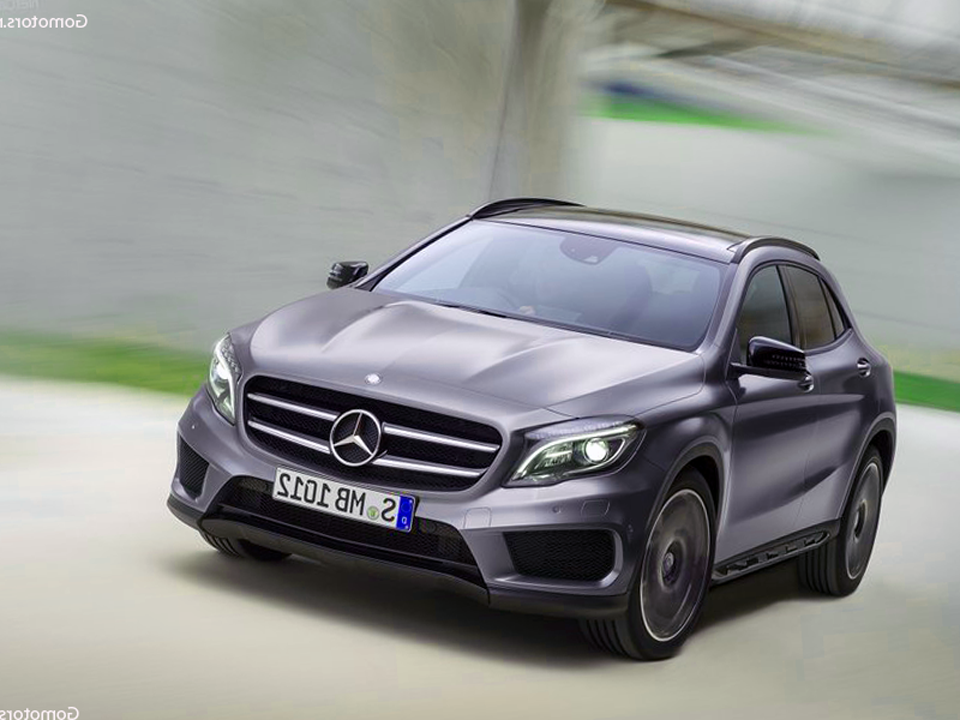 2015 mercedes benz gla class photos reviews news specs. Black Bedroom Furniture Sets. Home Design Ideas