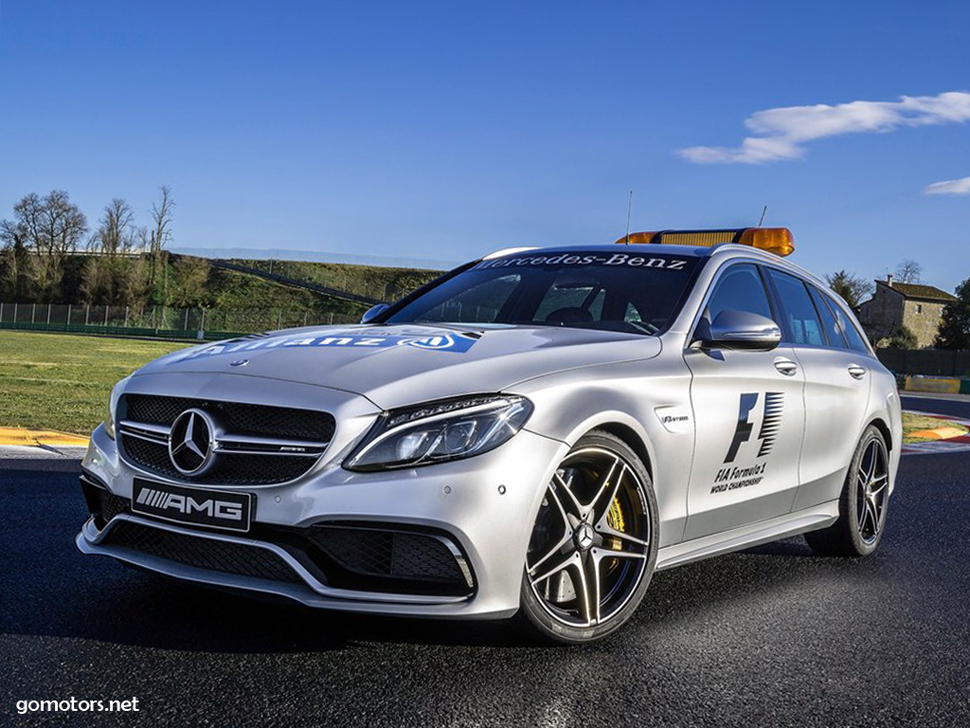 Mercedes benz c63 s amg estate f1 medical car 2015 for Mercedes benz estate cars