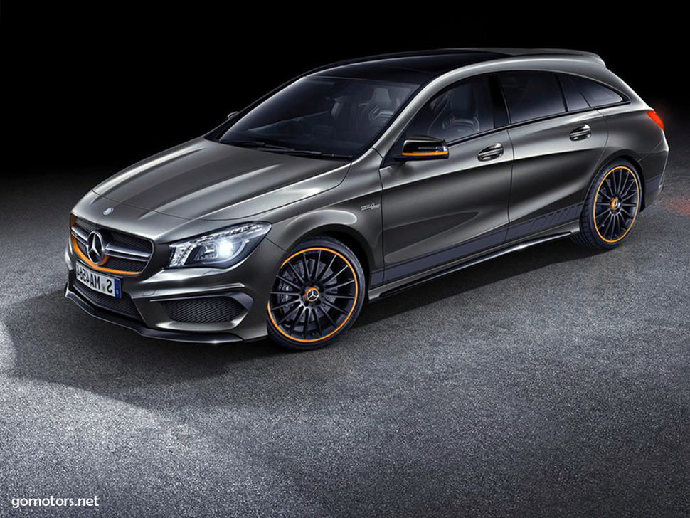 mercedes benz cla45 amg shooting brake 2016 picture 14