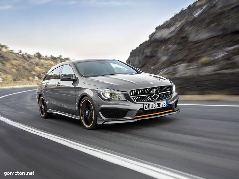 Mercedes benz cla shooting brake photos reviews news for Mercedes benz cla 500