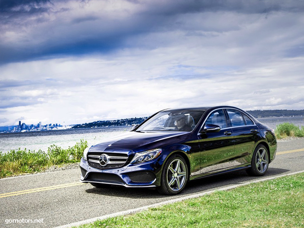 Mercedes benz c class us version 2015 photos reviews for Mercedes benz c class service b