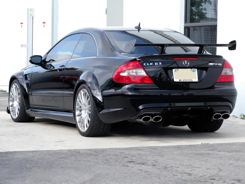 Mercedes Benz Clk63 Amg Black Series Photos Reviews News
