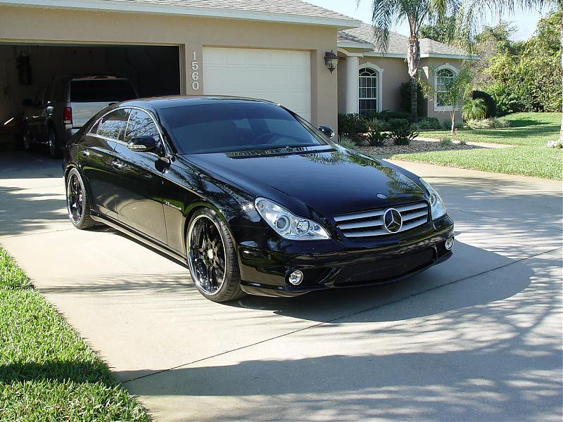 Mercedes Cls 2006 Black 2006 Mercedes Benz Cls 55 Amg