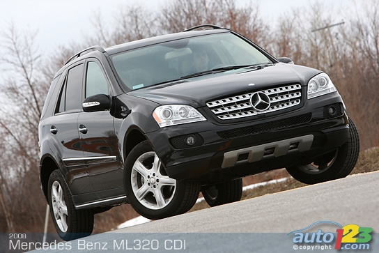 mercedes benz ml320 cdi photos news reviews specs. Black Bedroom Furniture Sets. Home Design Ideas