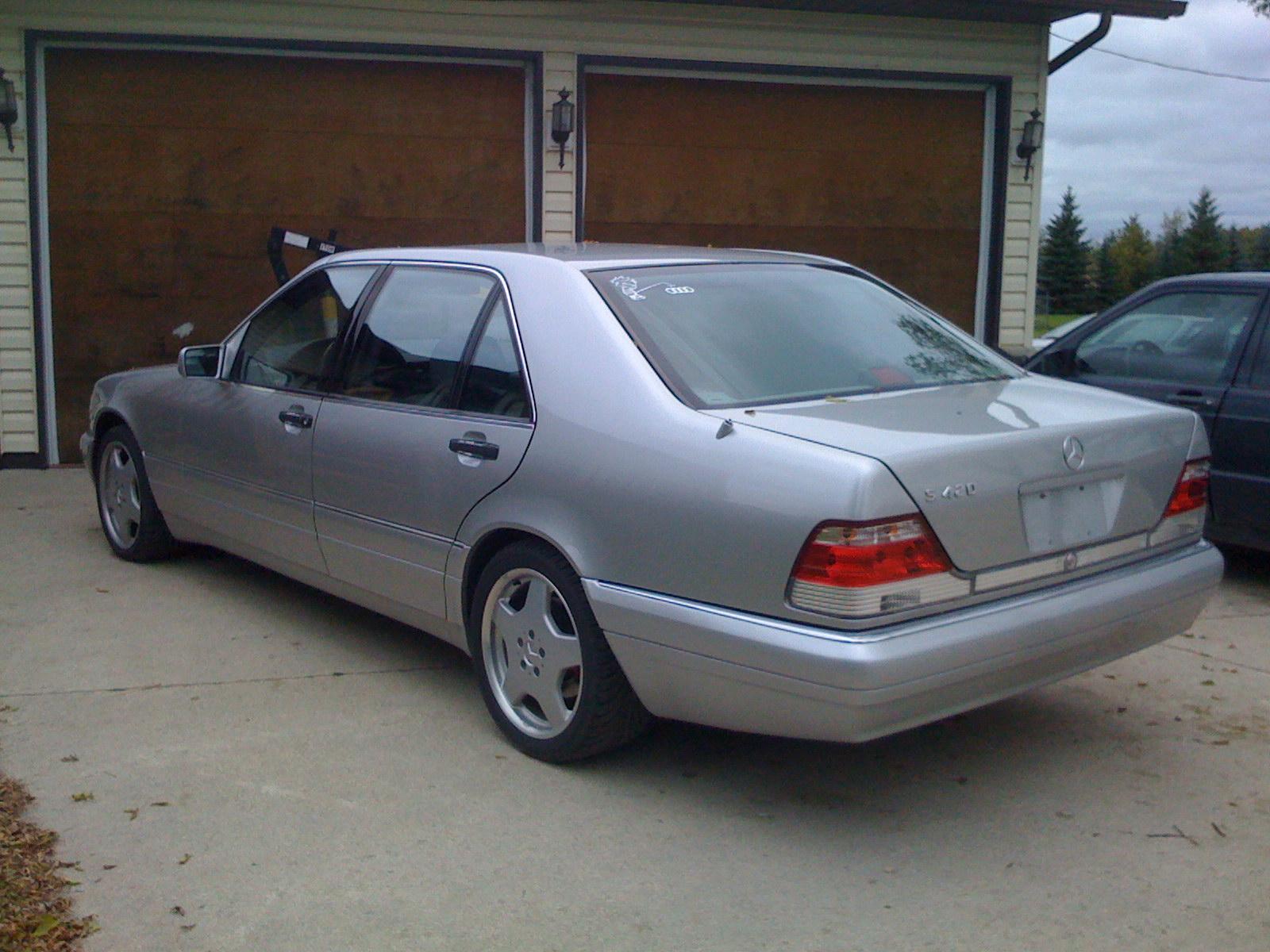 Mercedes benz s 420 photos reviews news specs buy car for Mercedes benz s 420