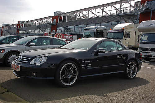 mercedes benz sl 55 amg v8 kompressor photos reviews