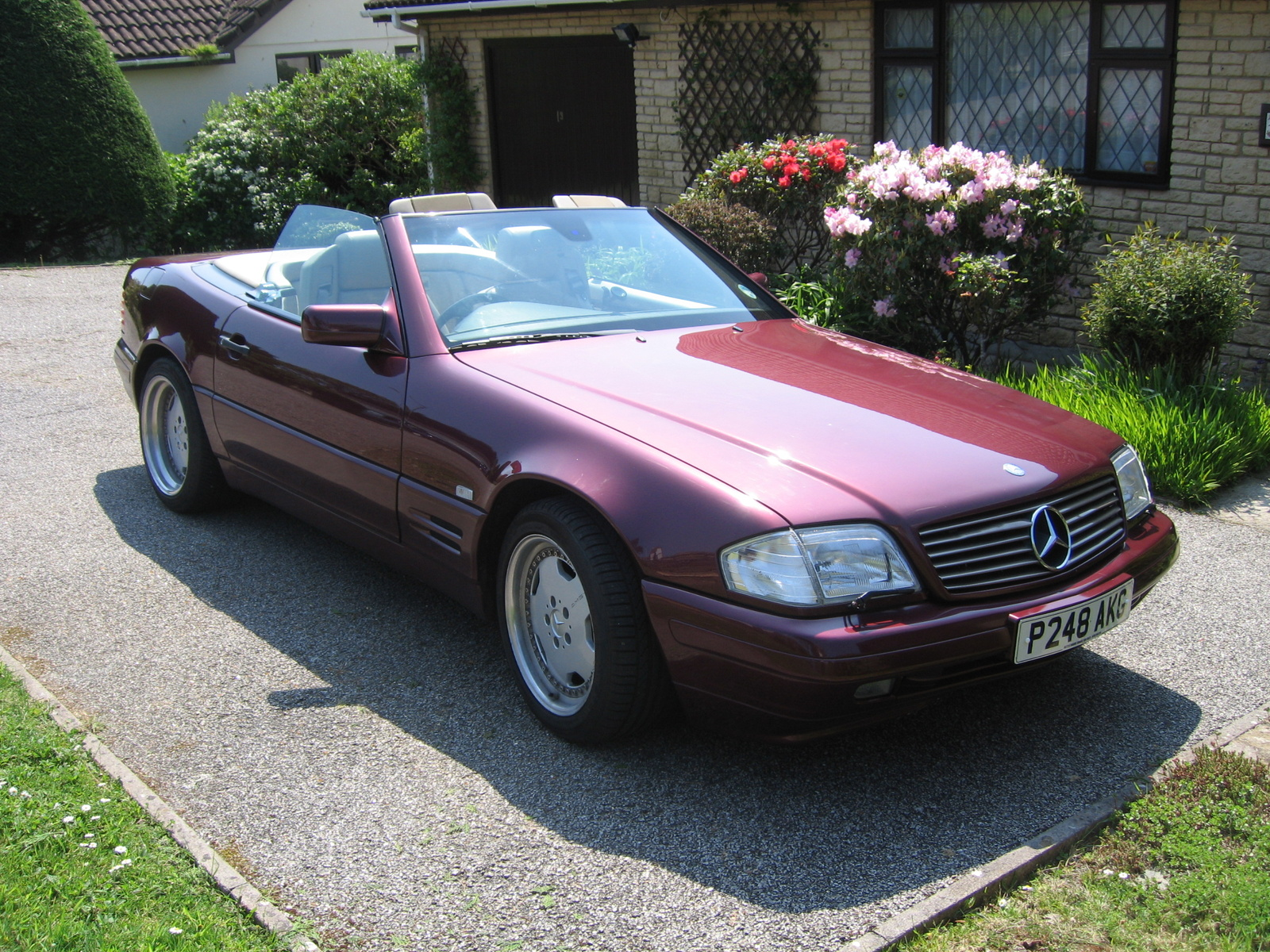 Mercedes Benz Sl320 Picture 1 Reviews News Specs