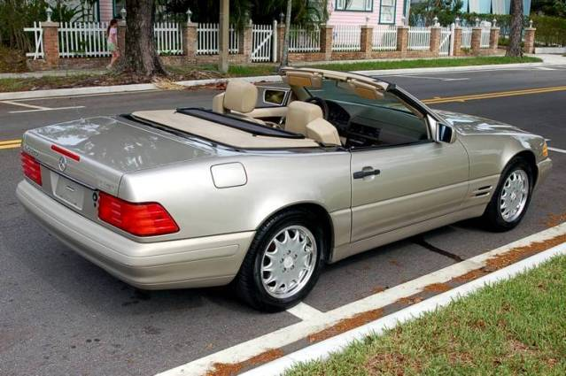 Mercedes Benz Sl320 Picture 4 Reviews News Specs