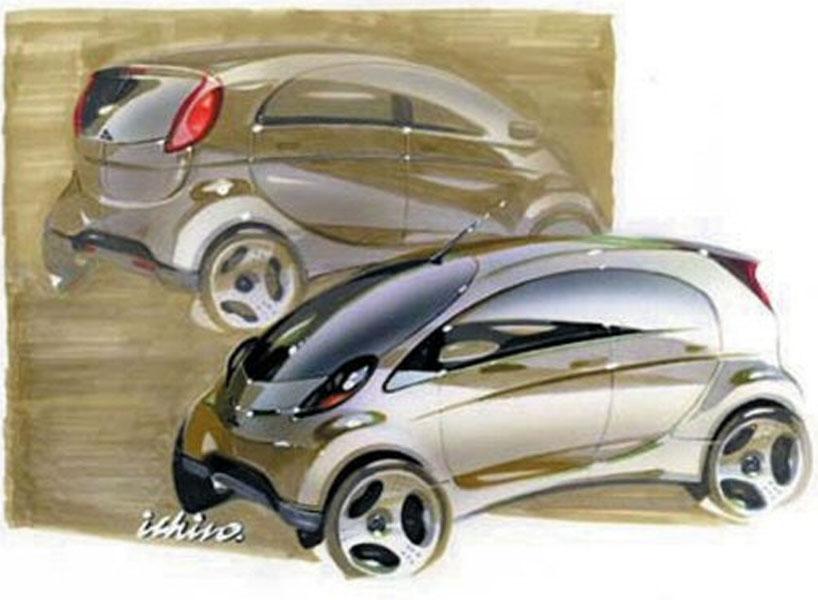 Mitsubishi I Concept Photos Reviews News Specs Buy Car