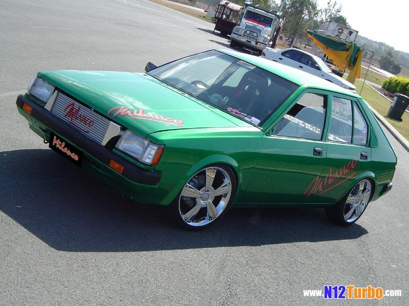 Nissan cherry turbo engine