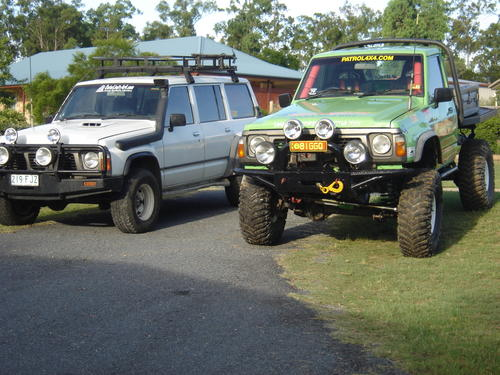 nissan patrol 4x4 ute picture 5 reviews news specs buy car. Black Bedroom Furniture Sets. Home Design Ideas