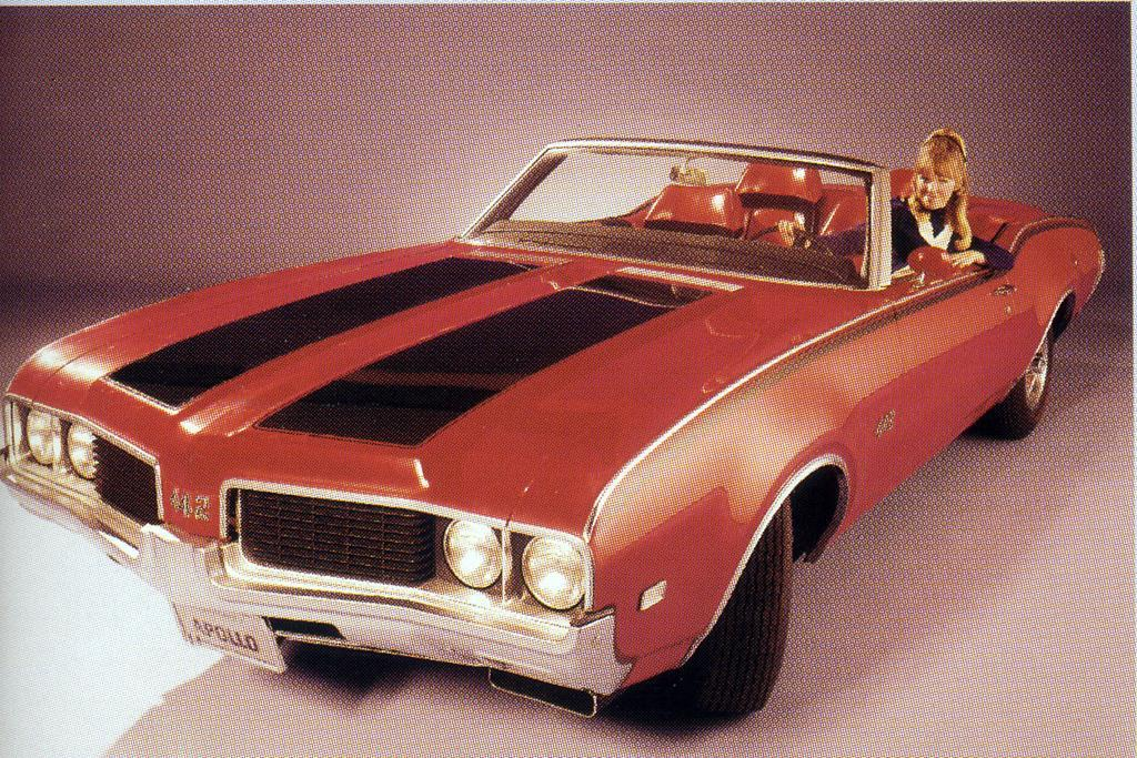 Oldsmobile 4-4-2 Apollo concept