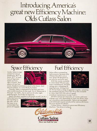 Oldsmobile Cutlass Salon