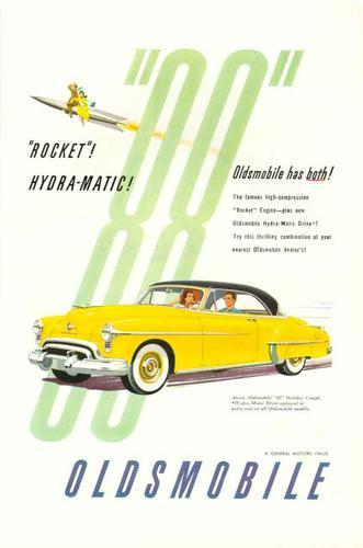 Oldsmobile Rocket 88 2 Door Hardtop