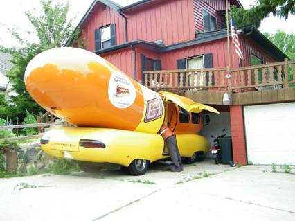 Oscar Mayer Weinermobile
