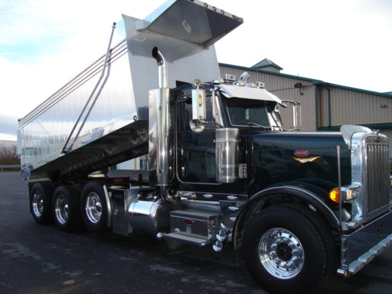 2000 Peterbilt 379 Quad Axle Dump Truck Cars Trucks