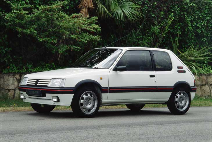 Is there a car you once owned that you still wish you had? Peugeot-205-gti-01
