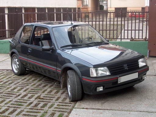 Peugeot 205 gti 19 picture 5 reviews news specs buy car for Housse 205 gti