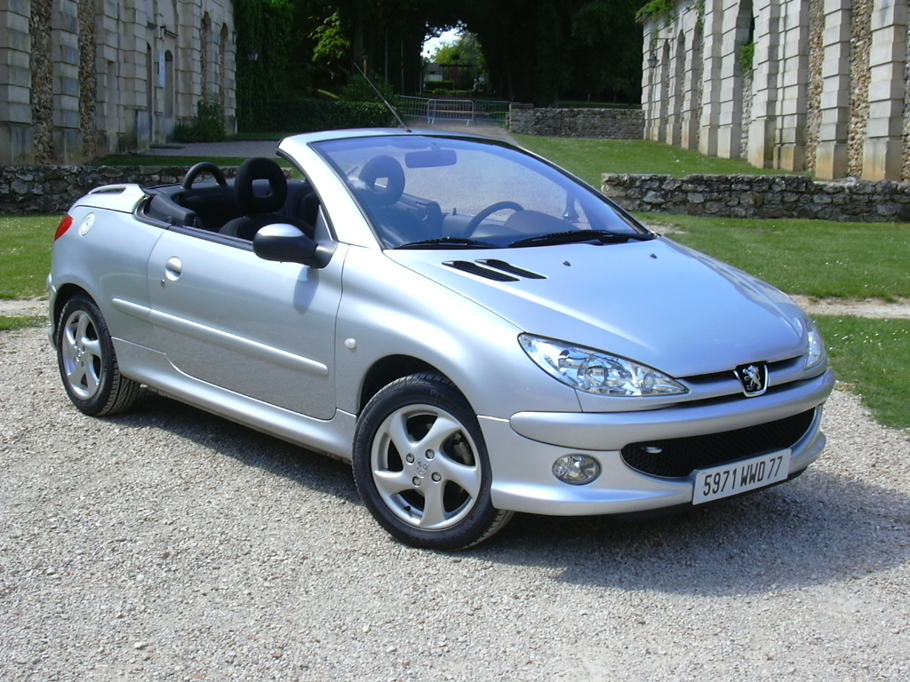 peugeot 206 cc photos news reviews specs car listings. Black Bedroom Furniture Sets. Home Design Ideas