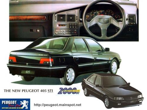 Peugeot 405 Picture 5 Reviews News Specs Buy Car