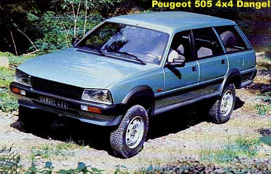 peugeot 504 wagon dangel picture 3 reviews news. Black Bedroom Furniture Sets. Home Design Ideas