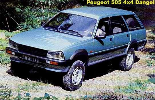 Peugeot 504 Wagon Dangel Picture 3 Reviews News Specs Buy Car