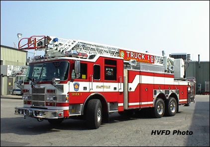 Pierce Fire Engine