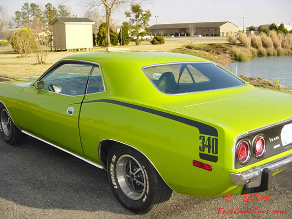 Plymouth Barracuda 340