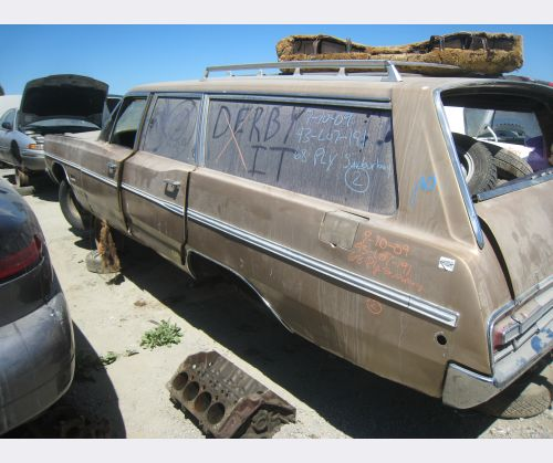 Plymouth Custom Suburban wagon