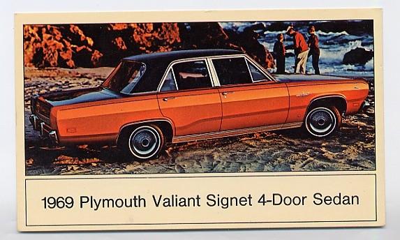 1969 Plymouth Valiant Signet Plymouth Valiant Signet