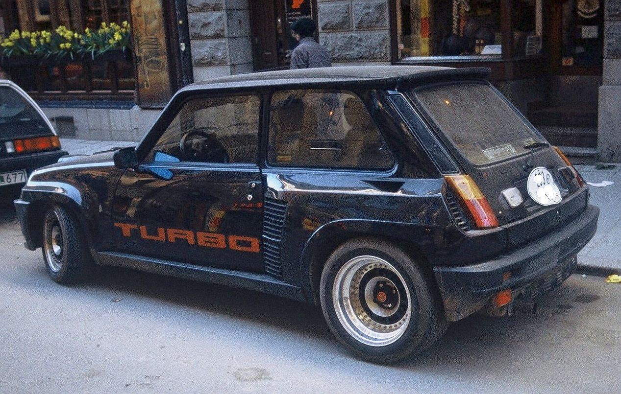 renault 5 turbo 2 photos news reviews specs car listings. Black Bedroom Furniture Sets. Home Design Ideas