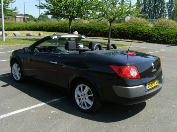 renault megane ii 20 cabriolet picture 3 reviews news. Black Bedroom Furniture Sets. Home Design Ideas